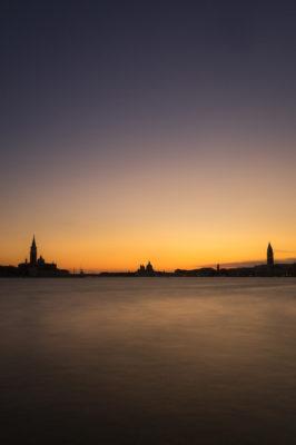 Venise au coucher du soleil