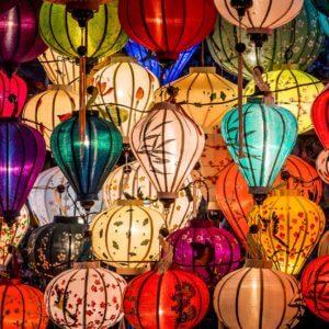 Lanternes de Hoi An au Vietnam