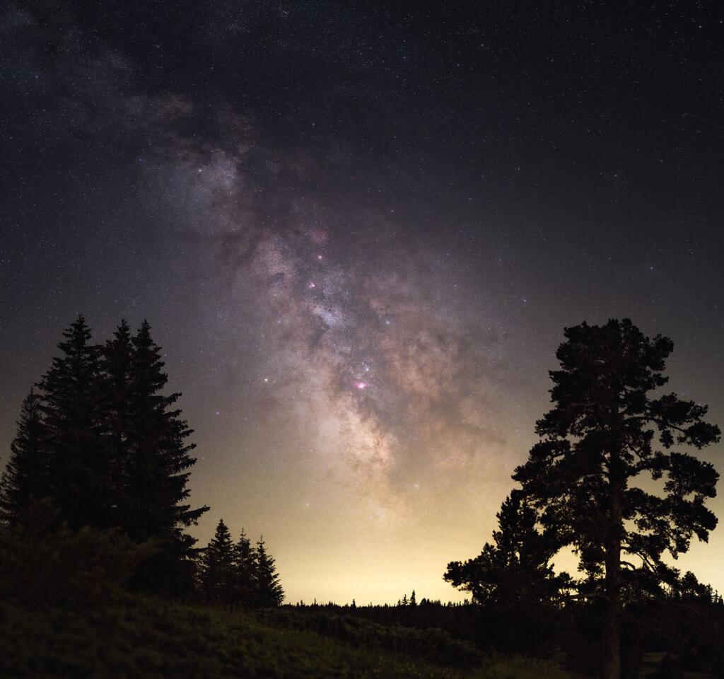 astrophoto voie lactée vercors